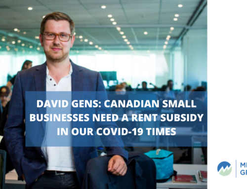 David Gens: Canadian small businesses need a rent subsidy in our COVID-19 times